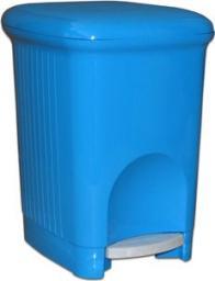 Kosz na śmieci Meliconi Square na pedał 5L niebieski (14107570034BABLUE)