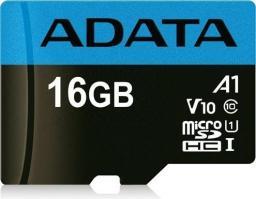 Karta ADATA MicroSDHC Premier 16GB UHS-I V10 (AUSDH16GUICL10A1-R)