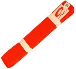 Spokey Pas do kimona Unsu czerwony 240 cm (85104)