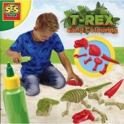 SES Zabawa W Piasku - Kolorowe Dinozaury (285636)