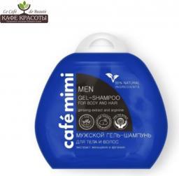 Cafe Mimi Szampon do  włosów i żel do mycia ciała dla mężczyzn 100ml