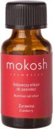 Mokosh Cosmetics Nutritive Nail Elixir odżywczy eliksir do paznokci Żurawina 10ml