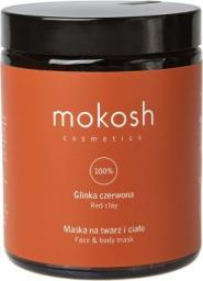 Mokosh Cosmetics Face & Body Mask maska na twarz i ciało Red Clay 180ml
