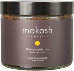 Mokosh Cosmetics Body Salt Srub Coffe & Orange peeling solny do ciała Kawa z Pomarańczą 300g