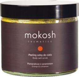 Mokosh Cosmetics Body Salt Scrub Orange & Cinnamon peeling solny do ciała Pomarańcza z Cynamonem 300g