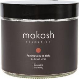 Mokosh Cosmetics Body Salt Scrub Cranberry peeling solny do ciała Żurawina 300g