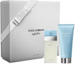Dolce & Gabbana Light Blue Woman Zestaw dla kobiet