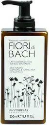 PHYTORELAX PHYTORELAX_Fior Di Bach Moisturizing Cleansing & Toning Milk With Bach Flowers mleczko oczyszczające 250ml - 8030976003424