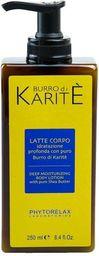 PHYTORELAX PHYTORELAX_Burro Di Karite Latte Corpo Deep Moisturizing Body Lotion głęboko nawilżający balsam do ciała 250ml - 8030976008795