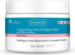 Bielenda Skin Breath Maska Algowa Peel Off Skin Breath dotleniająca maska algowa z Minerałami Morskimi 80g