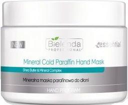 Bielenda BIELENDA PROFESSIONAL_Hand Program Mineral Cold Paraffin Hand Mask mineralna maska parafinowa do dłoni 150g - 5902169027339