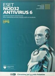 ESET NOD32 Antivirus 6 2013 (3 st./1 rok) UPG