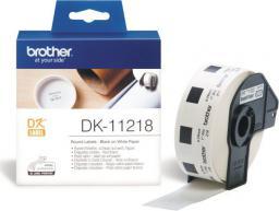 Brother tasma DK-11218 (black on white)