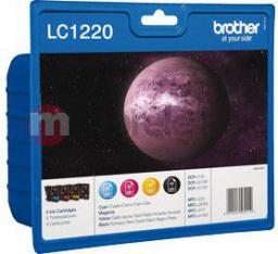 Brother tusze LC-1220VALBP (cyan, magenta, yellow, black)
