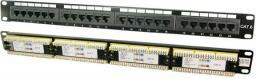 LogiLink Patch panel UTP CAT6 24-porty czarny NP0004