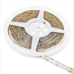Taśma LED Whitenergy SMD3528 5m 120szt./m 9.6W/m 12V Zielona (6893)
