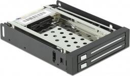 Kieszeń Delock 3.5″ na dysk 2 x 2.5″ SATA HDD/SSD (47189)