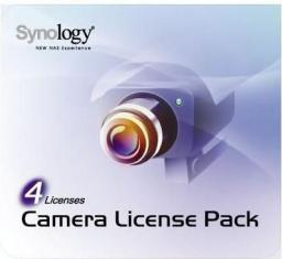 Licencja do kamer sieciowych Synology Camera License Pack 4 Licenses (LICENSEPACKFOR4)