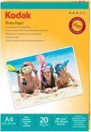 Kodak Inkjet Glossy A4 20 arkuszy (PKI-A4SGL180-20)
