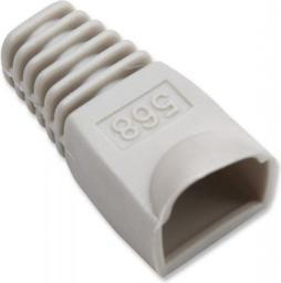 Intellinet Network Solutions Osłonka na wtyk RJ45 szara 10szt (504362)