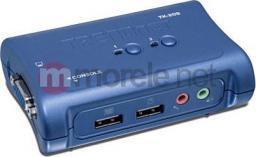 Przełącznik TRENDnet 2xK/V/M 2048x1536 2x3to1/Audio Cables USB TK-209K