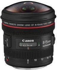 Obiektyw Canon EF 8-15 mm f/4L Fisheye USM (4427B005AA)