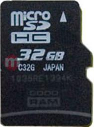 Karta MicroSD GoodRam 32GB (SDU32GHCAGRR10)