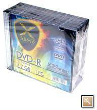 Extreme DVD-R/10/Slim 4.7GB 16x