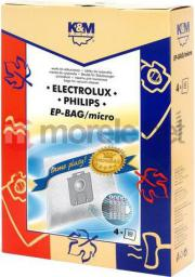 Worek do odkurzacza K&M PHILIPS/ELECTROLUX EP-BAG MICRO (4)