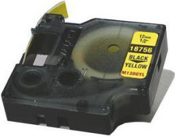 Dymo taśma RHINO 18490 (black on yellow)