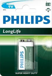 Philips Bateria LongLife 9V Block 1szt.