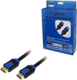 Kabel LogiLink HDMI - HDMI 15m czarny (CHB1115)
