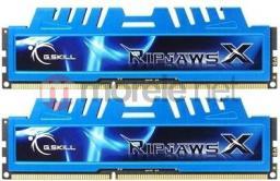 Pamięć G.Skill DDR3 8GB (2x4GB) RipjawsX 1600MHz CL7 (F3-12800CL7D-8GBXM)