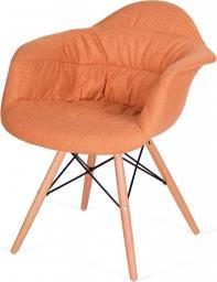 King Home Fotel Rugo Arm pomarańczowy