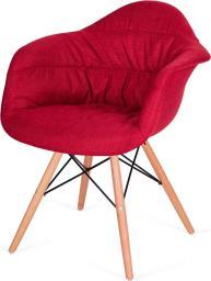 King Home Fotel Rugo Arm czerwony