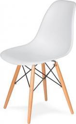 King Home Krzesło DSW Wood białe