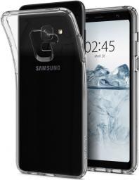 Spigen Etui  Liquid Crystal do Samsung Galaxy A8 2018 Crystal Clear