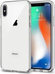 Spigen Etui Liquid Crystal do IPhone X/10 Crystal Clear