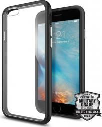 Spigen Ultra Hybrid do Apple iPhone 6/6s czarno-przezroczyste