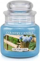 Country Candle Świeca zapachowa Mały słoik Country Love 104g