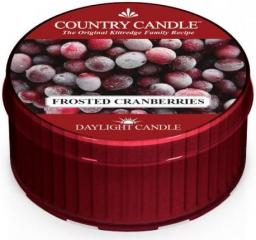 Country Candle Świeca zapachowa Daylight Frosted Cranberries 35g