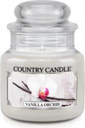 Country Candle Świeca zapachowa Mały słoik Vanilla Orchid 104g