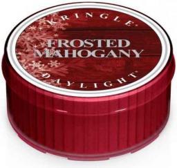 KRINGLE CANDLE Świeczka zapachowa Daylight Frosted Mahogany 35g