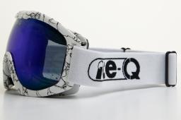 Ice-Q Gogle Małe Ciche białe