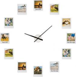 Froster Zegar z ramkami na zdjęcia Impressions Clock
