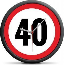 Froster Zegar urodzinowy 40 - Przekrocz limit