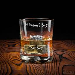 Froster Szklanka do whisky Valentine's Day