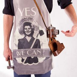 Gadget Factory Fartuszek Retro - Yes we can