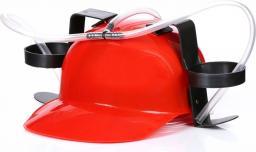 Gadget Factory Imprezowy kask - Czerwony