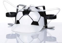 Gadget Factory Imprezowy kask - Piłka